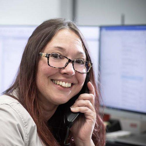 Daniela Pointinger empfängt Sie am Telefon